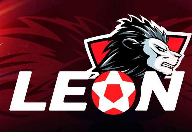 Лого сайта букмекера Leon
